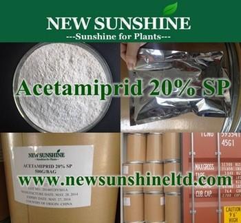 Insecticide Acetamiprid 96 TC 20 SP