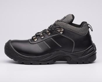 Cleanroom steel toe shoes work boots low steel toe rubber safety footwear