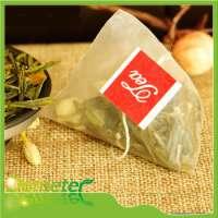 pyramid green tea bags