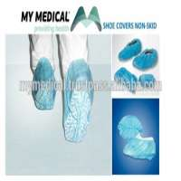 Disposable Shoe cover shoecover nonskid printed PP MY MEDICAL  Manufacturer