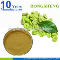 Kosher Pure Green Coffee Bean Extract Green Coffee Bean Extract PowderGreen Coffee Extract