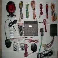 GSM car alarm system Manufacturer
