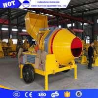 Mini Portable Diesel Engine Concrete Mixer Manufacturer