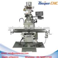 vertical milling machine metal processing Manufacturer