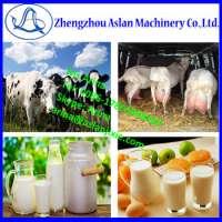 portable vacuum cow milking machine/ fresh milk vacuum collecting machine/vacuum pump milker Manufacturer