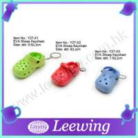 Gift Item Plastic Crocs Shoes Keychain Manufacturer