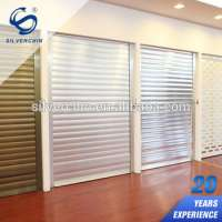 Remote Control Rapid Roll Doors Aluminum Electric Automatic Roll Up Garage Door Manufacturer