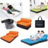 INFLATABLE DOUBLE AIRBED SOFA ELECTRIC PUMP AIR CAMPING BED COUCH CHAIR Manufacturer