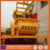 JS500 twin shaft concrete mixer Manufacturer