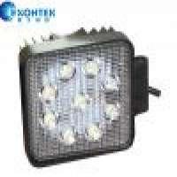 LED Work Lamp Square shape Headlight 27W 4WD LED Headlamp Jeep SUV UTV Tractor Manufacturer
