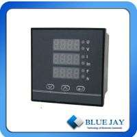 Digital lv threephase panel meter bj194e multifunction power meter Manufacturer