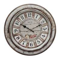 wooden wall clock home decor  Manufacturer