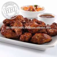 Halal Frozen BBQ Chicken Wings Marinated Manufacturer