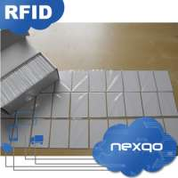 Standard 86 54mm size 076mm thickness plastic blank card