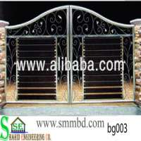 Stainlesss steel boundary gate