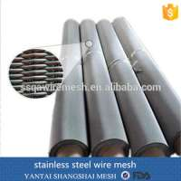Plain Woven Stainless Steel Wire Mesh Manufacturer