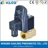 Automatic electronic air compressor drain valve Manufacturer