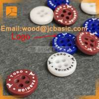 Engraved Plastic Resin Button Shirts Manufacturer
