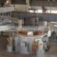 25T100T Round roof regenerative aluminium melting furnace oil type Manufacturer