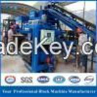 Automatic hydraulic cement concrete solid paving brick and hollow brick block making machine Manufacturer