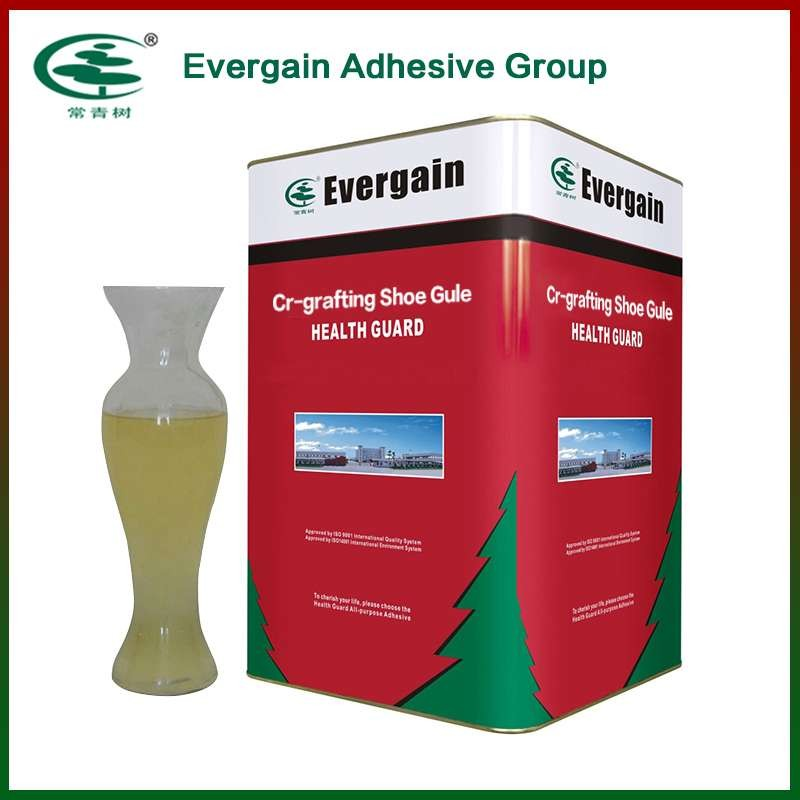 CR graft polymers solvent adhesive for shoe industry
