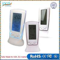 Digital LCD Alarm Calendar Clock Manufacturer