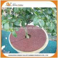 Wearresistant rubber tree ring