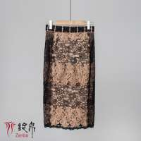 Embroidered lace skirt lady Manufacturer