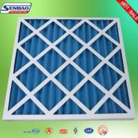 Panel Primary Air Filter Cardboard Frame Pre Filter Manufacturer
