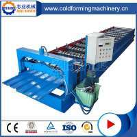 Roof Sheet Cold Roll Forming Machine