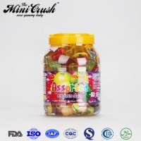 100pcs fruit jelly candy sweets juicy jelly cup coconut