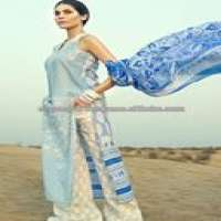 Women Linen EMBROIDERED SUITS Manufacturer