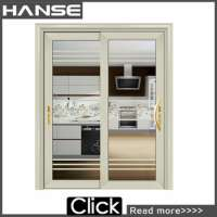 HS8019 prehung interior soundproof glass entry doors home