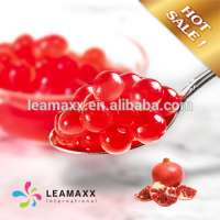 Pomegranate Flavored Popping Boba Bubble Tea Supplies