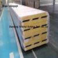 PU sealed glass wool sandwich roof panel energy saving Manufacturer