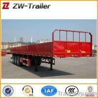Widely Used 23 Axles 70T 40ft Container Trailer Manufacturer