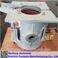 electric induction furnace 500kg aluminum scrap melting furnace Manufacturer