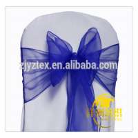 Polyester Colorful Chair Sash Manufacturer