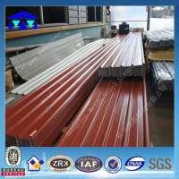 zinc aluminium coated steel roofing sheet