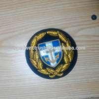 Hand embroidery blazer chest badges emblem