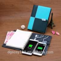 dairy a5 ring binder notebook power bank and usb flash drive Manufacturer