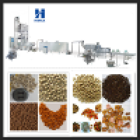 Fully Automatic floating fish feed pet food making machine processing line CE certificate Manufacturer