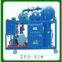 Double Stage Vacuum Transformer Oil Filtration Unit Series ZYD Manufacturer