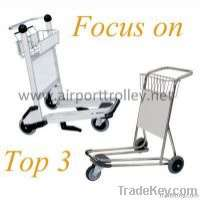 250kg load capacity airport hand trolley Manufacturer