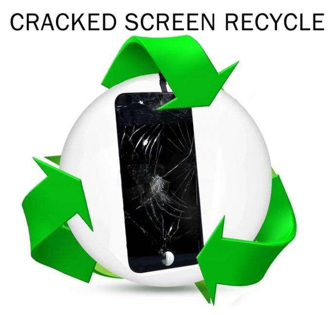 broken LCD screen recycle