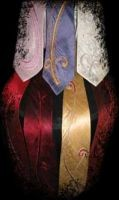 Embroidered neckties