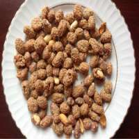 peanut coated sesame and honey