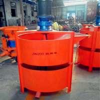 Portable cement concrete mixer