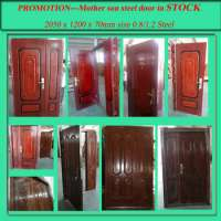 Mother son steel ready doors  Manufacturer