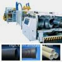 Plastic doublewall corrugated pipe production machine Manufacturer